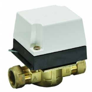 087N660900 2 port 22mm Zone Valve HP22. Danfoss. Motorized Valve.